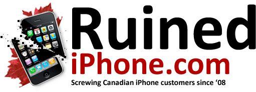 ruined iphone