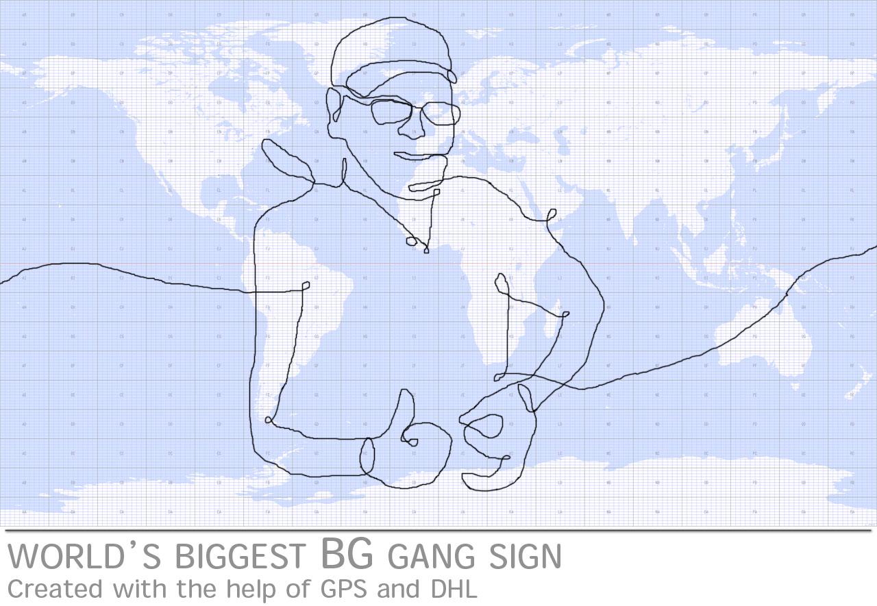 worlds-biggest-gang-sign