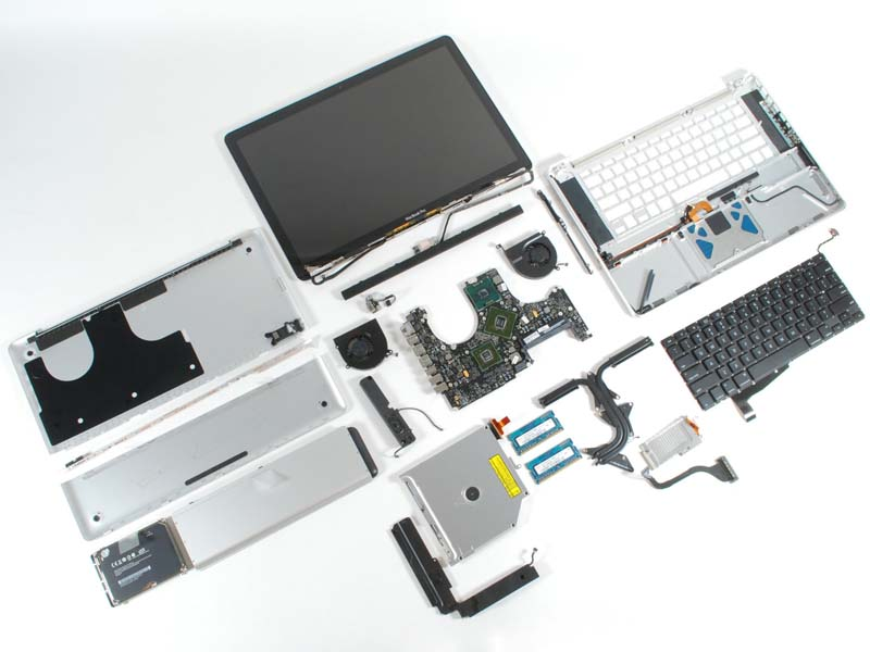 MacBook Pro dissected