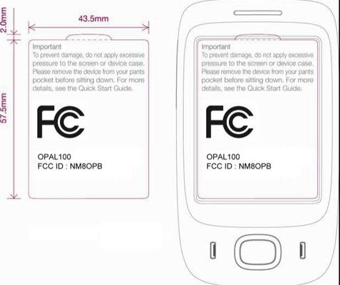 HTC Opal FCC