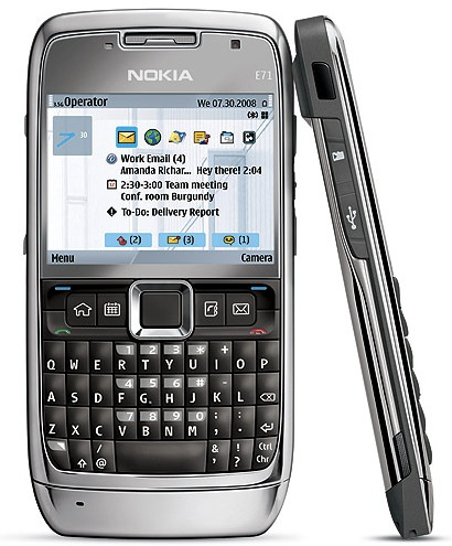 Nokia E71 is expected to be released by Rogers in Q4 2008.