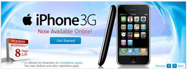 iphone 3g home activation