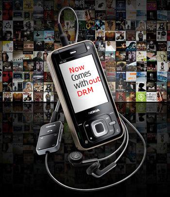 Nokia Comes With Music No DRM