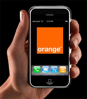 Orange iPhone France