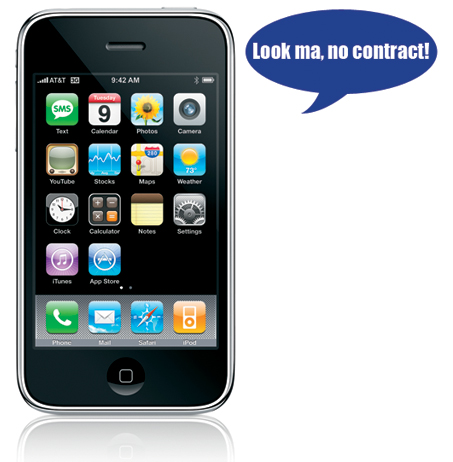 no contract iphones apple stores across the us now selling iphone 3g s sans 3447