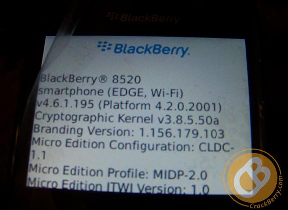 blackberry curve 8520 software