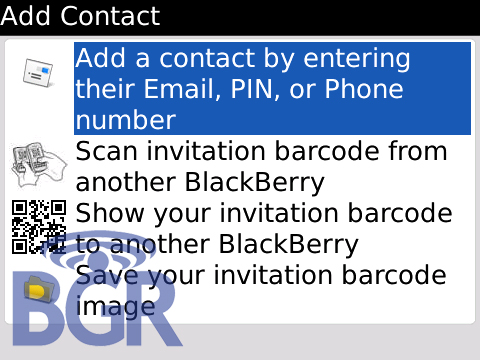 how to connect to blackberry link