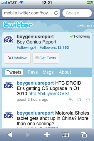 BGR Twitter iPhone