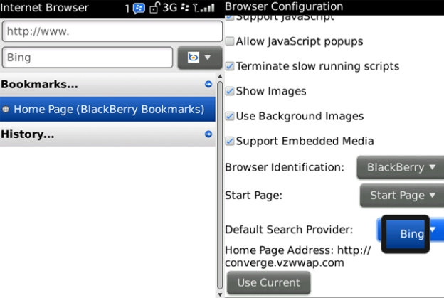 Bing-BlackBerry-Options