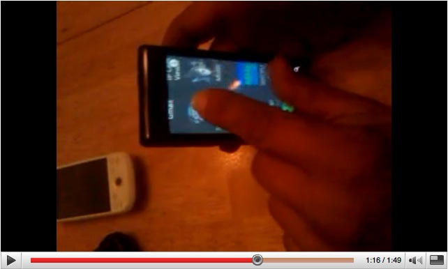 DROID doing multitouch