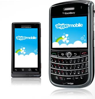 Skype Mobile Verizon