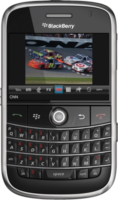 Sling Player on BlackBerry Bold