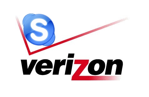 verizon and skype logo