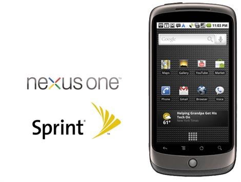 Nexus One Sprint