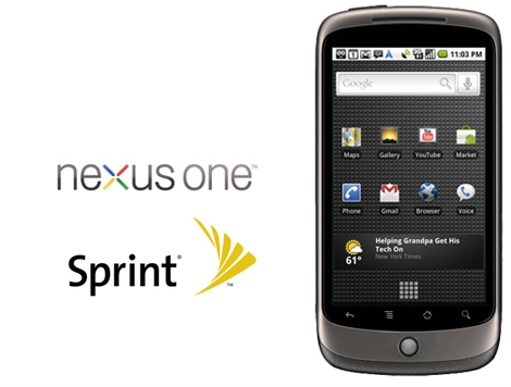 Nexus One Sprint