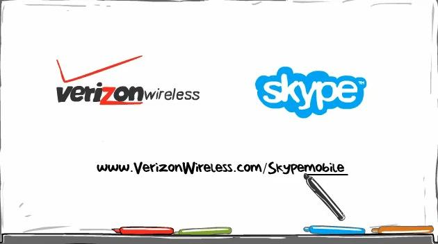 VZW Skype Video