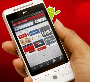 Opera Mini 5 Android