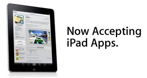 iPad Applications Being Accepted