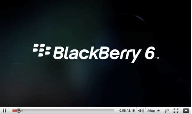 BlackBerry 6 Video