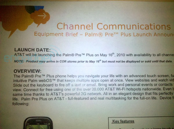 att-palm-pre-plus-launch