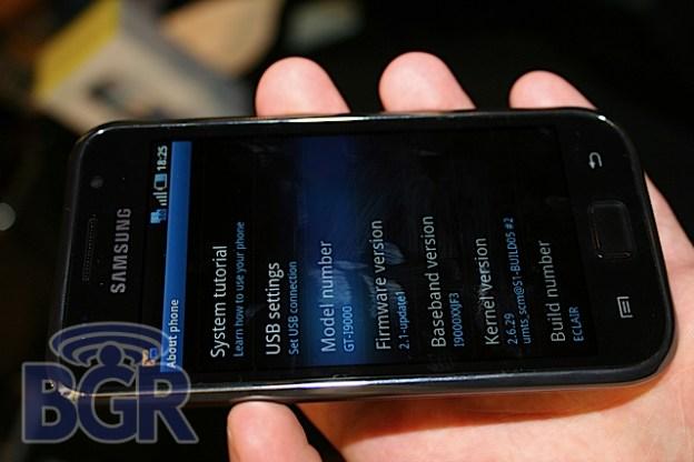 Pepcom 2010 Galaxy S