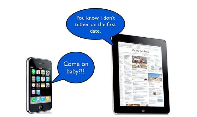 iPadiPhone Tether Conversation