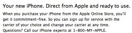 Unlocked Canadian iPhones