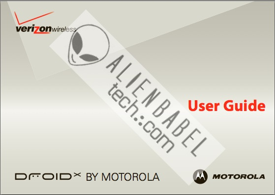 DROID X User Guide