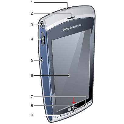 Sony-Ericsson-Vivaz-ATT-logo