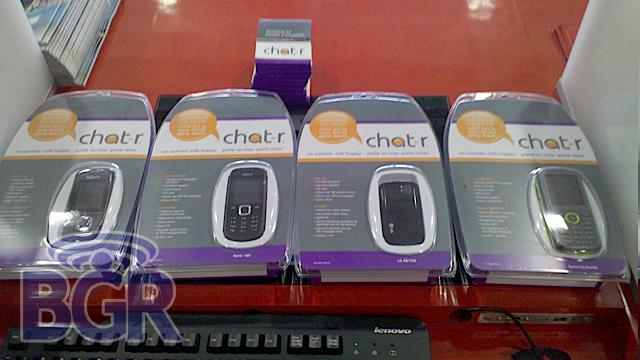 Chatr handsets