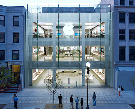 Apple Stores iPhone Sales