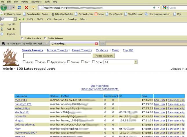 TPB SQL Hack