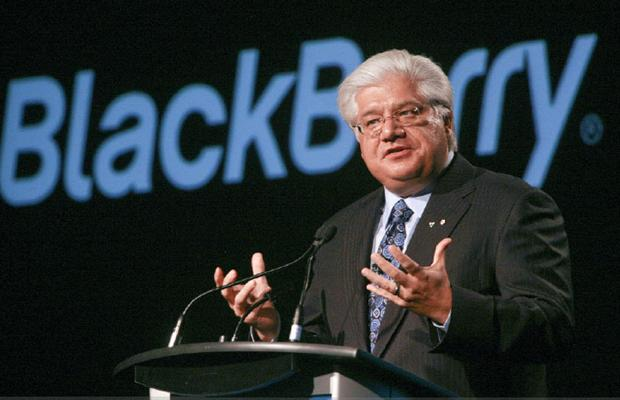 BlackBerry Co-Founder Mike Lazaridis Resigns