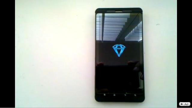 DROID X Sapphire Video