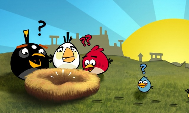 Angry Birds North Korea Tablet