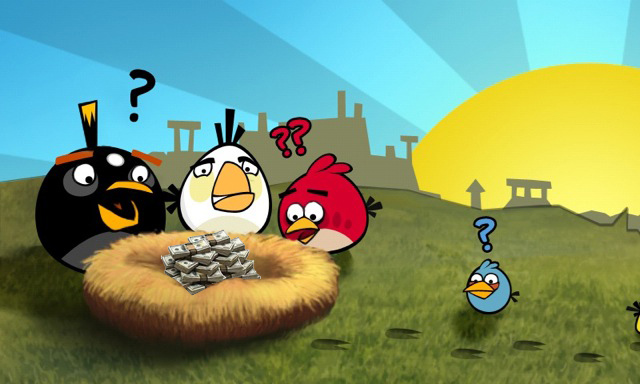 Angry Birds iPhone Android