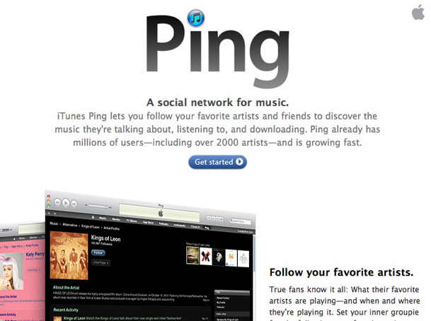 Apple Ping Discontinued