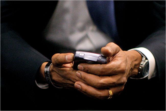 White House BlackBerry vs Android
