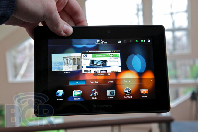 Blackberry Playbook Review Bgr