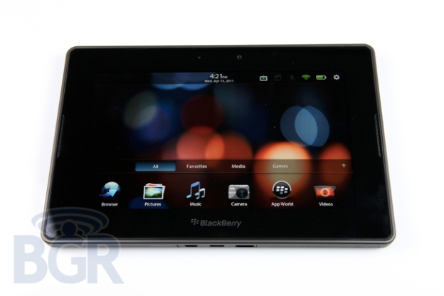 BlackBerry Playbook OS 2.1 Beta