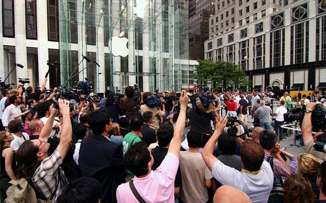 Fifth Avenue Apple Store Origin