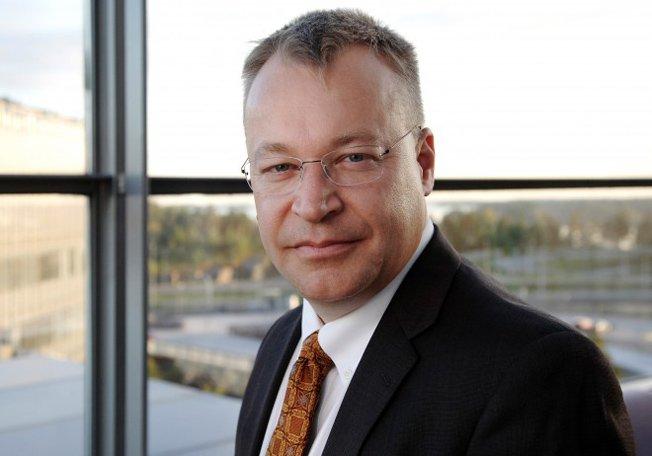 Nokia CEO Stephen Elop