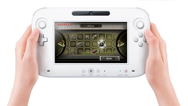 Wii U Gamepad, centerpiece of Nintendo's Wii U social gaming platform