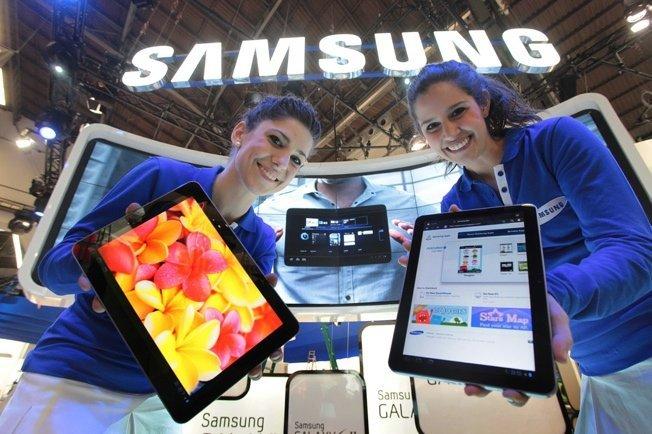 Samsung tablet marketshare