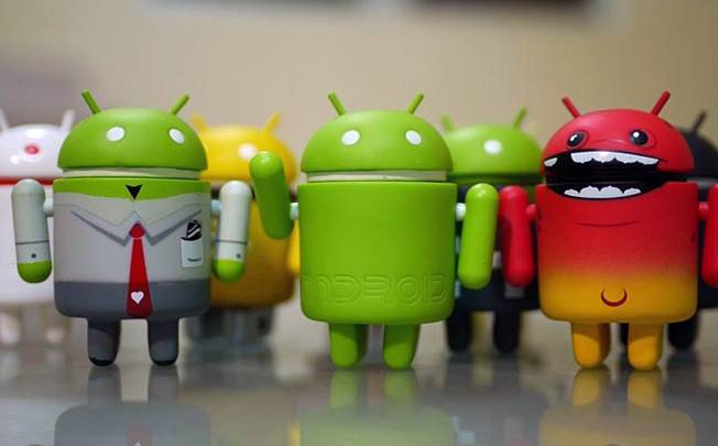 Mobile Market Share 2012 Android