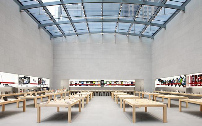 iBeacon Apple Stores