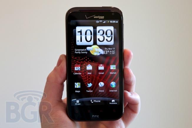 HTC Rezound 4G LTE smartphone