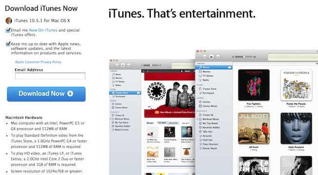Apple releases iTunes 10.5.1, iTunes Match to launch later ...