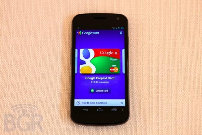 Google Wallet Prepaid Card