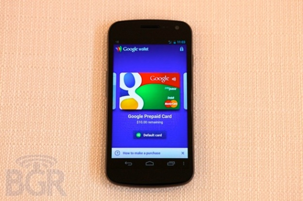 Google Wallet Prepaid Card
